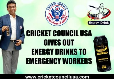 CCUSA gives out Energy Drinks to emergency workers