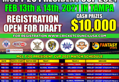 Player Registration for Draft [President Cup 2021]