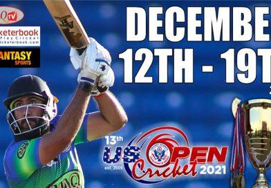 US Open set for Dec 12